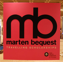 Marten Bequest Travelling Scholarships event